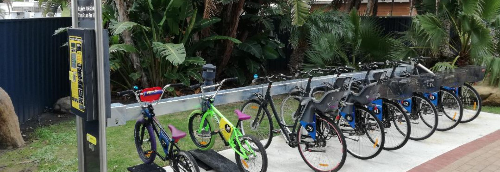 west beach caravan park bike hire